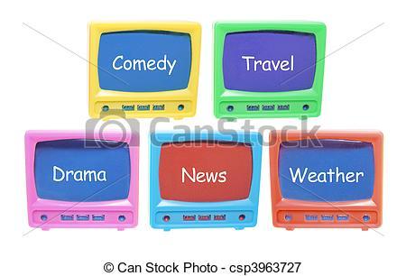 Tv Programmes Clipart.
