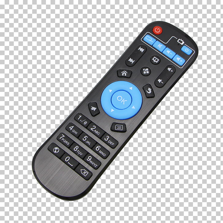 Amlogic Android TV Kodi 4K resolution, tv remote control PNG.