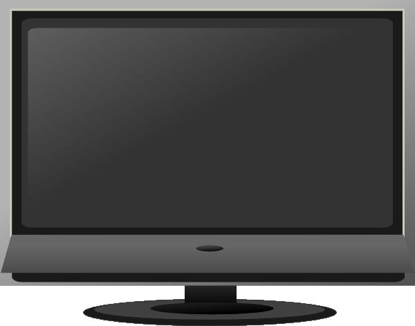 Tv screen clipart clipart kid 2.