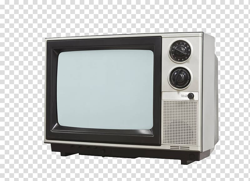 Black and white CRT television, Chroma key Television set.