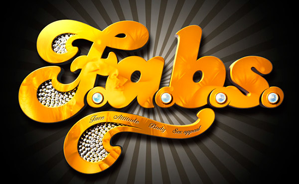 F.a.b.s. (TV show) logo on Behance.