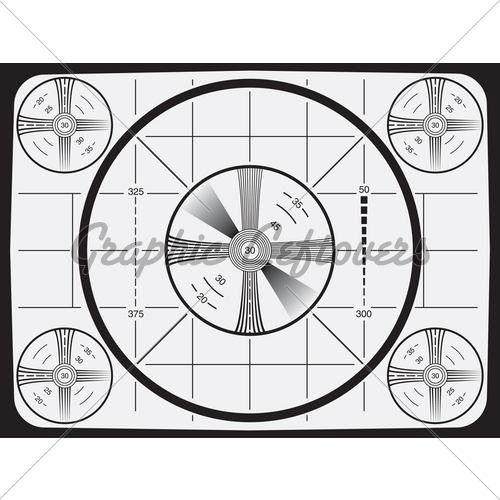 Television Test Pattern · GL Stock Images.