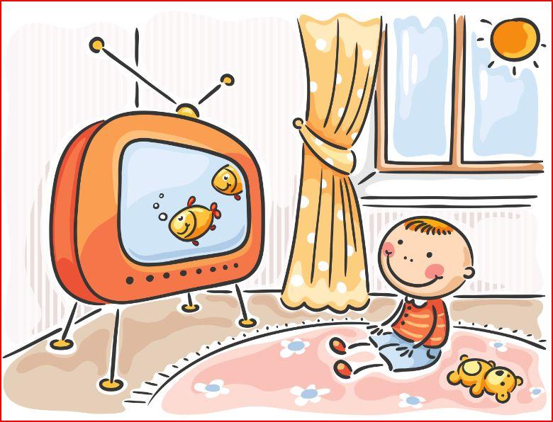 Kids Tv Clipart.