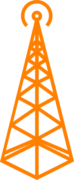 Tv tower clipart.