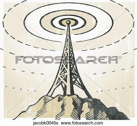 Stock Illustration of TV Tower jacobk0045s.