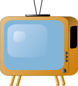 Tv Time Clipart.