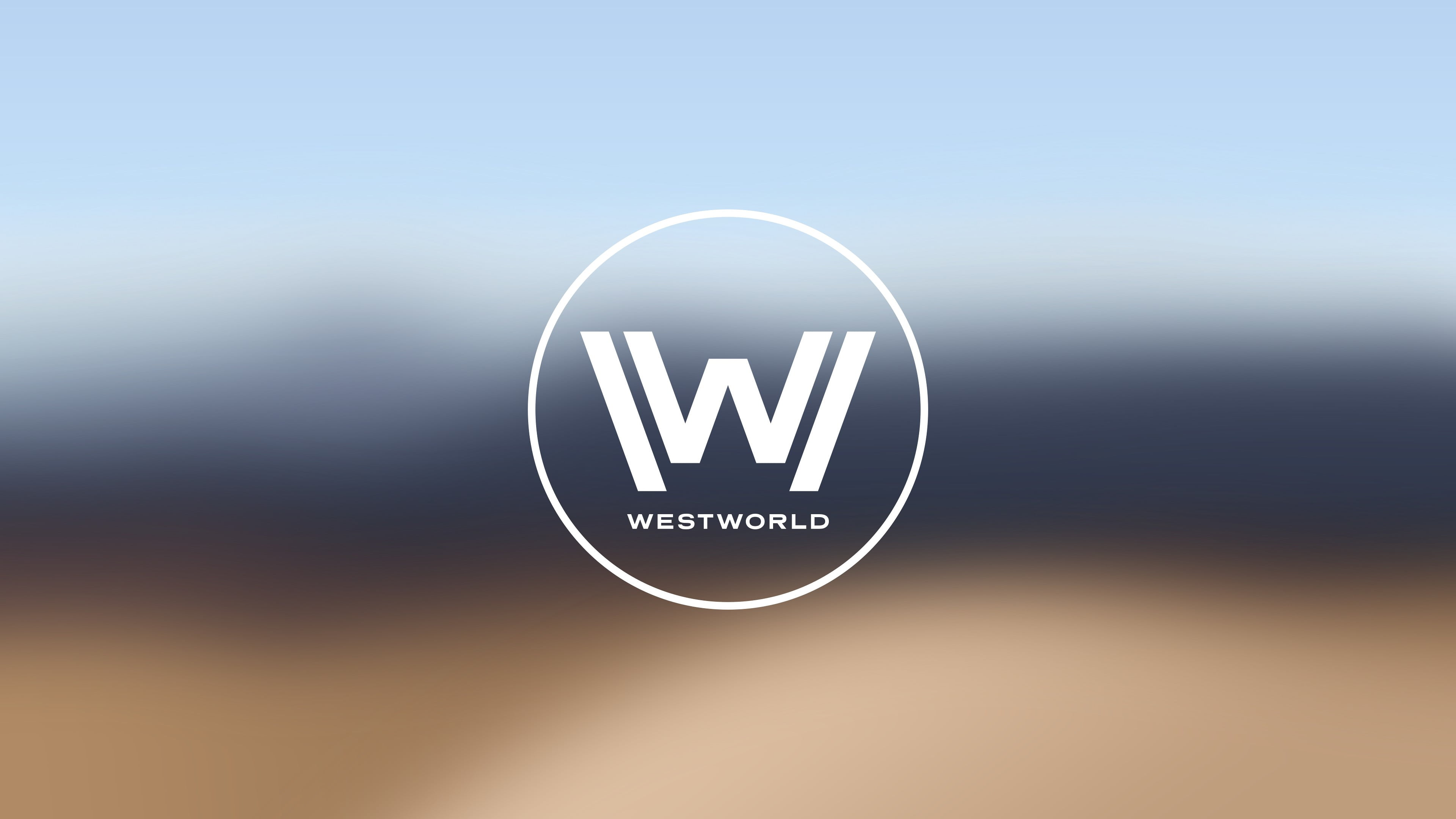 Letter W logo, westworld, tv series, minimalism HD wallpaper.