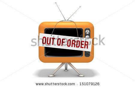 Tv Out Order Stock Illustration 151079126.