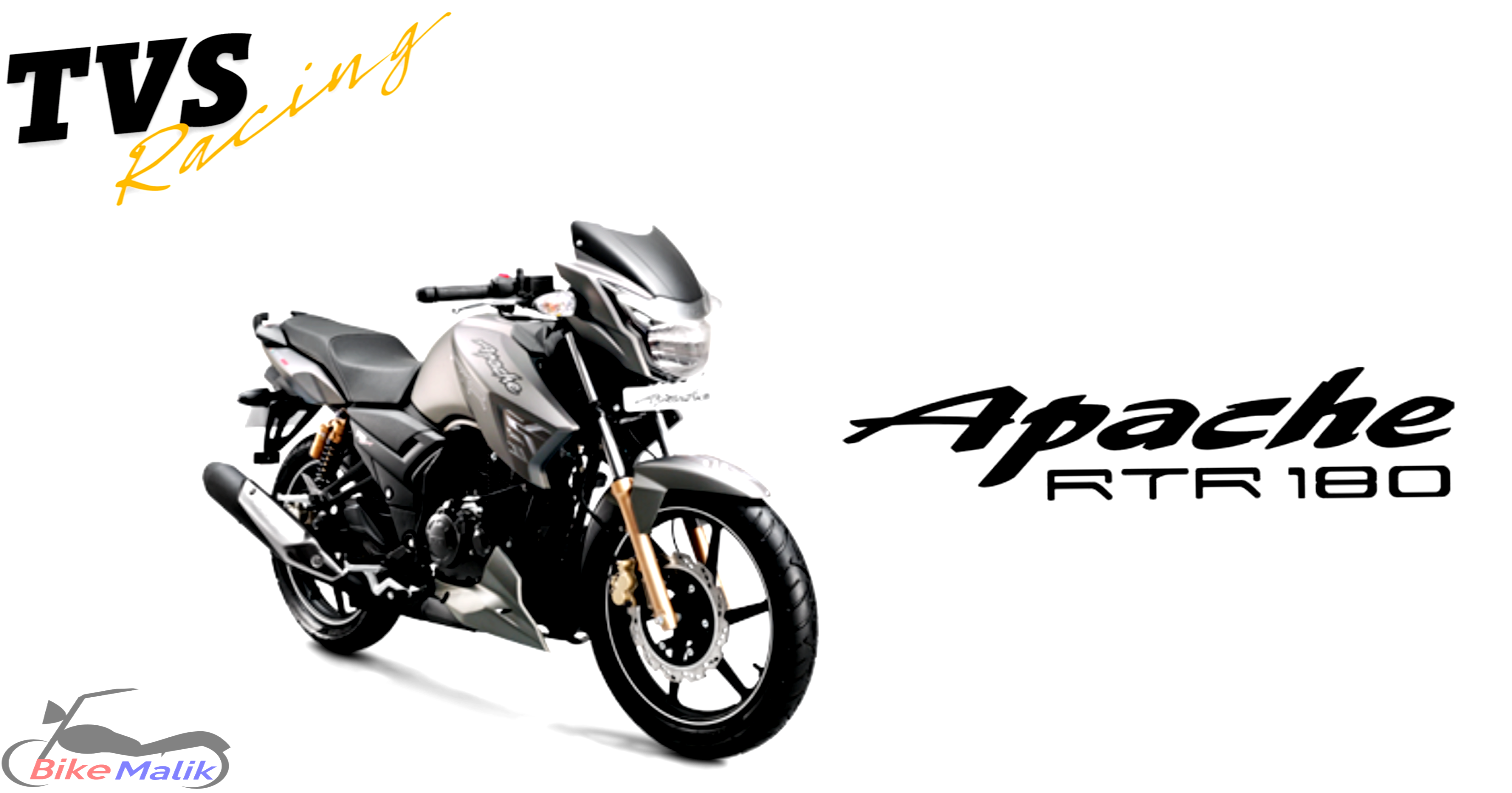 Tvs Apache Rtr 180 Is Offered In 4 Elegant Colors As.