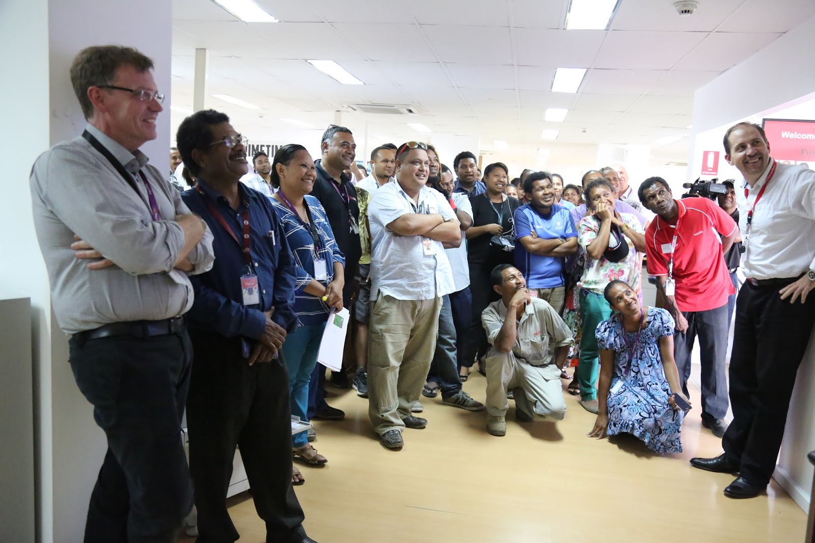 Producer of the best local content in PNG celebrates second.