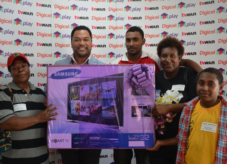 Digicel PNG launches new TVWAN channels.