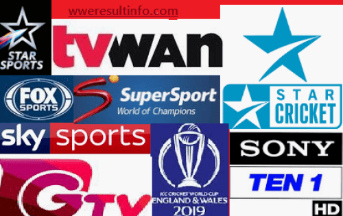 ICC Cricket World Cup 2019 Live TV Channel.