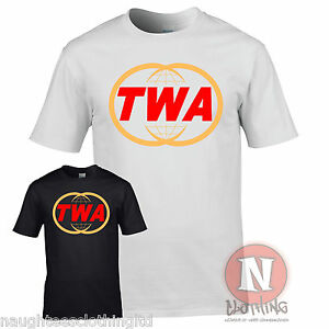 Details about TWA Trans World Airlines logo t.