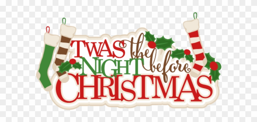 Night Clipart Christmas Eve.