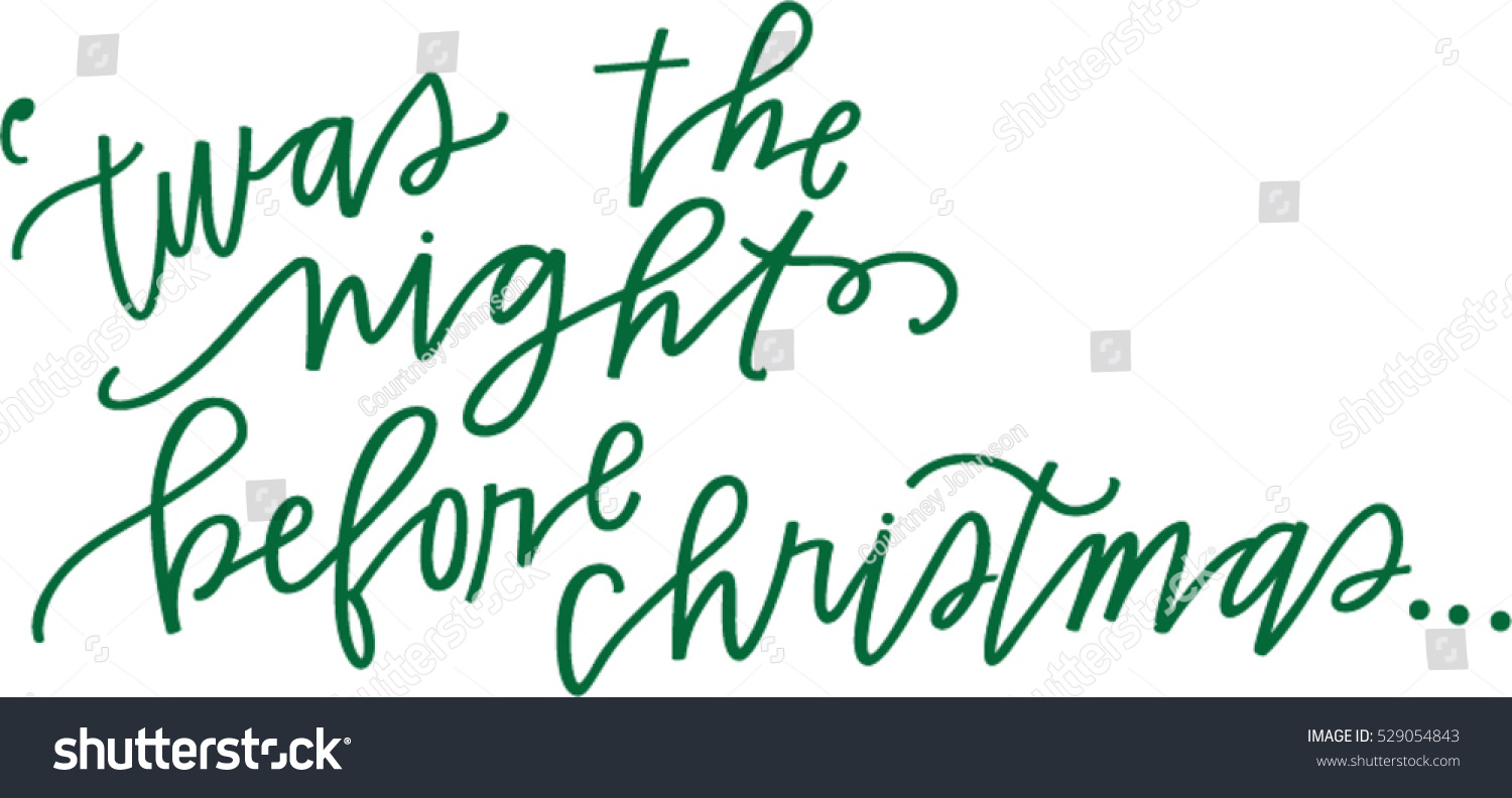 Twas The Night Before Christmas Clipart (105+ images in.