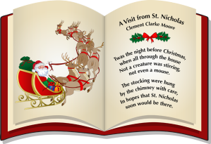Clip Art Of Twas The Night Before Christmas.