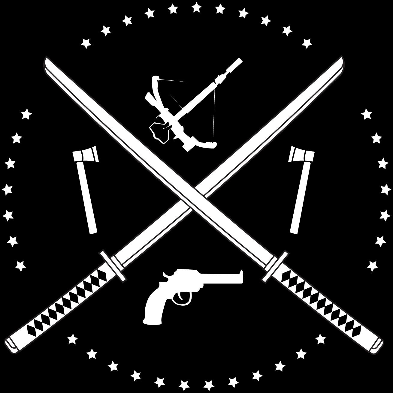 Rough TWD logo idea. : thewalkingdead.