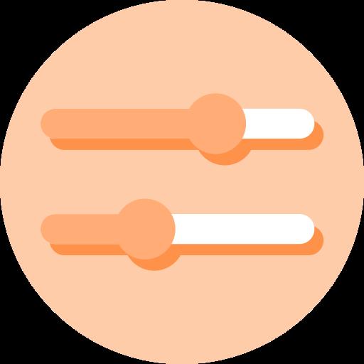 Setting, software, tool, tweak, unity icon.