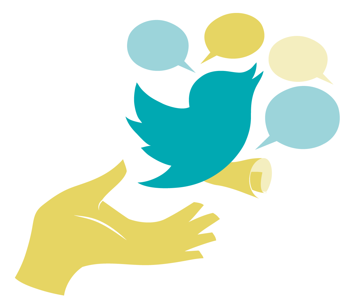 Free vector twitter clipart.