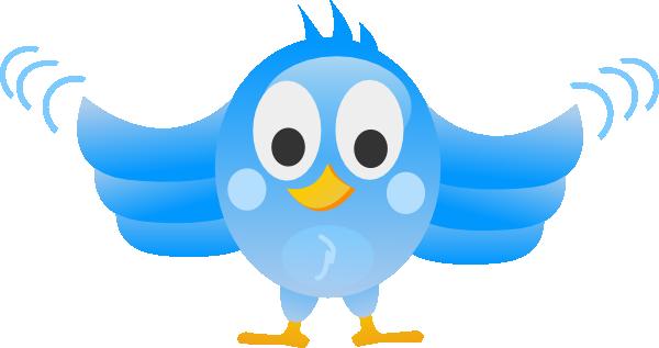 Tweet Bird Clip Art at Clker.com.