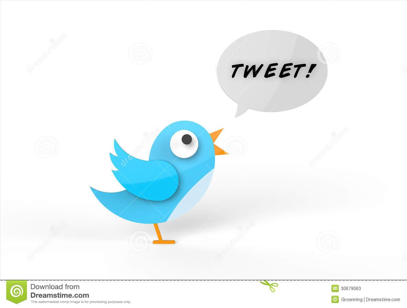 Tweeting Bird Stock Photos.