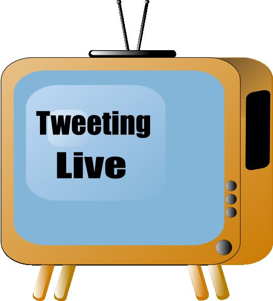 Tweeting Live Clip Art at Clker.com.