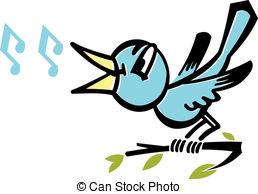 A bird tweeting Illustrations and Clip Art. 381 A bird tweeting.