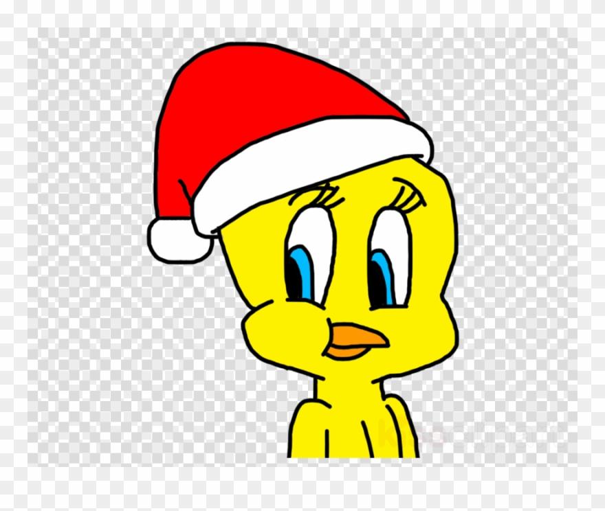 Tweety Bird Christmas Clipart.