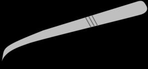 Tweezer/forceps Clip Art at Clker.com.