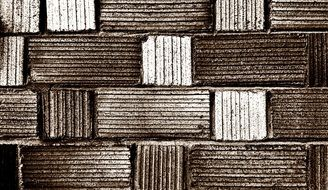 Aesthetic brick wall free image.