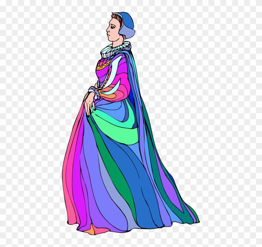 Olivia Maria Twelfth Night Character Dress.