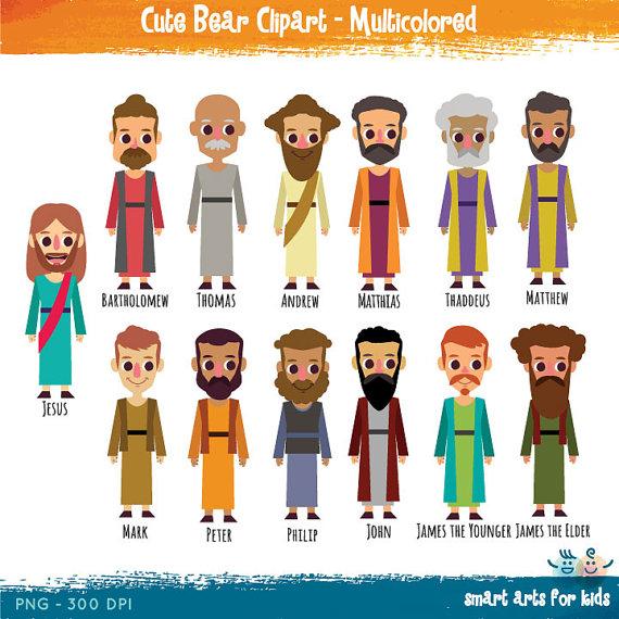 Twelve apostles clipart #20