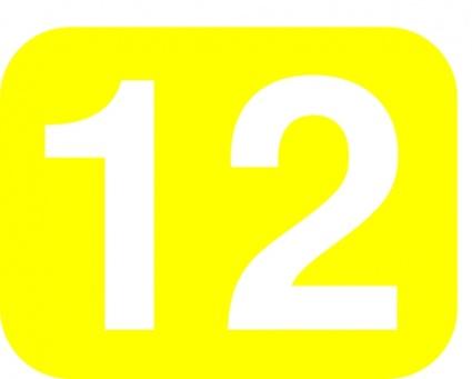 Twelve clipart.