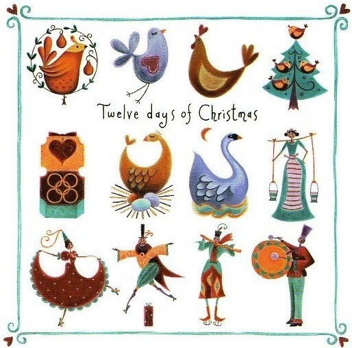 91+ 12 Days Of Christmas Clipart.