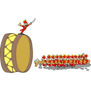 12 Drummers Drumming clipart, cliparts of 12 Drummers.