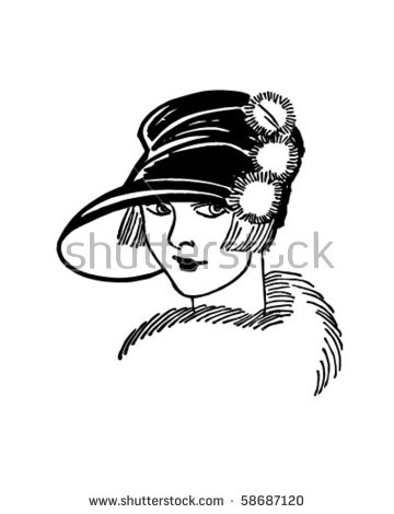 Roaring Twenties Stock Images, Royalty.
