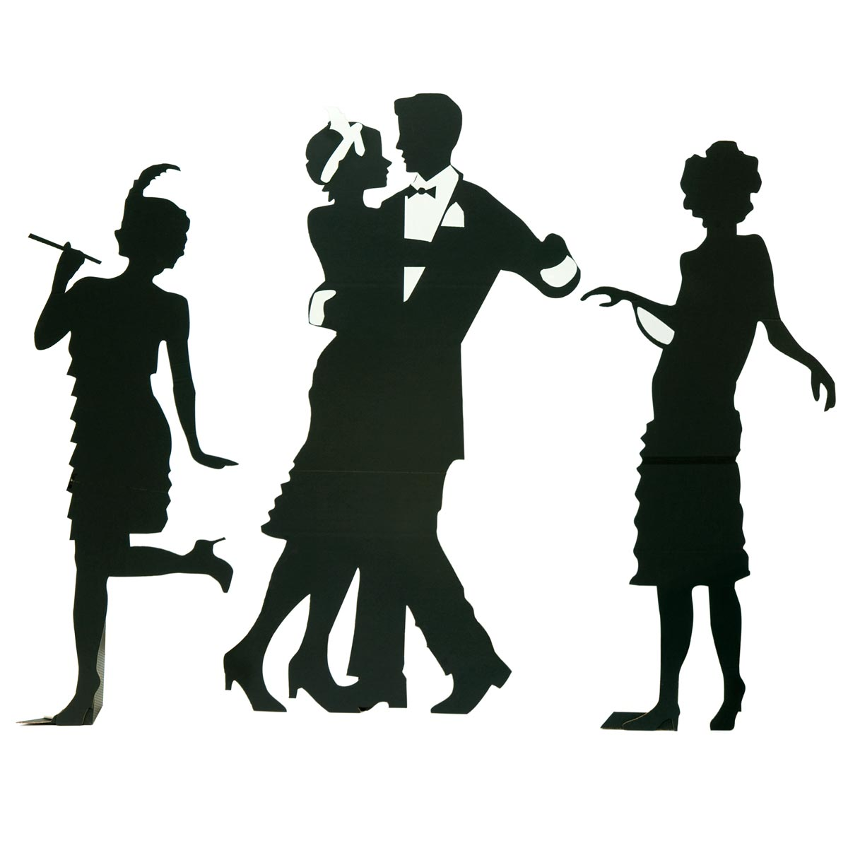Roaring 20's party clipart.