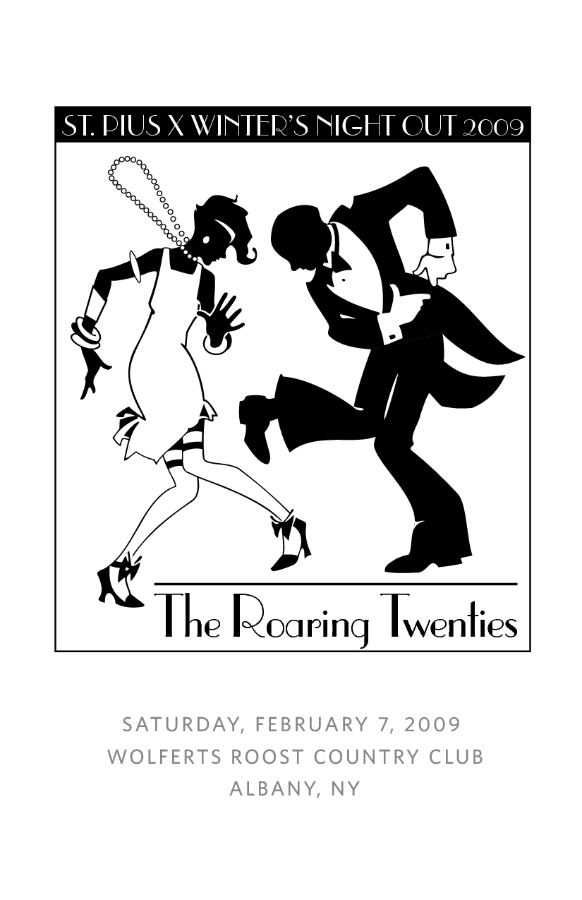 Roaring 20s Gangster Clipart.