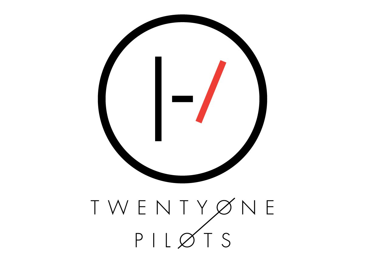 Meaning 21 Pilots logo and symbol.