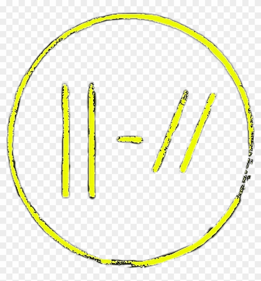 New Twenty One Pilots Logo Twentyonepilots Yellow Fce30.
