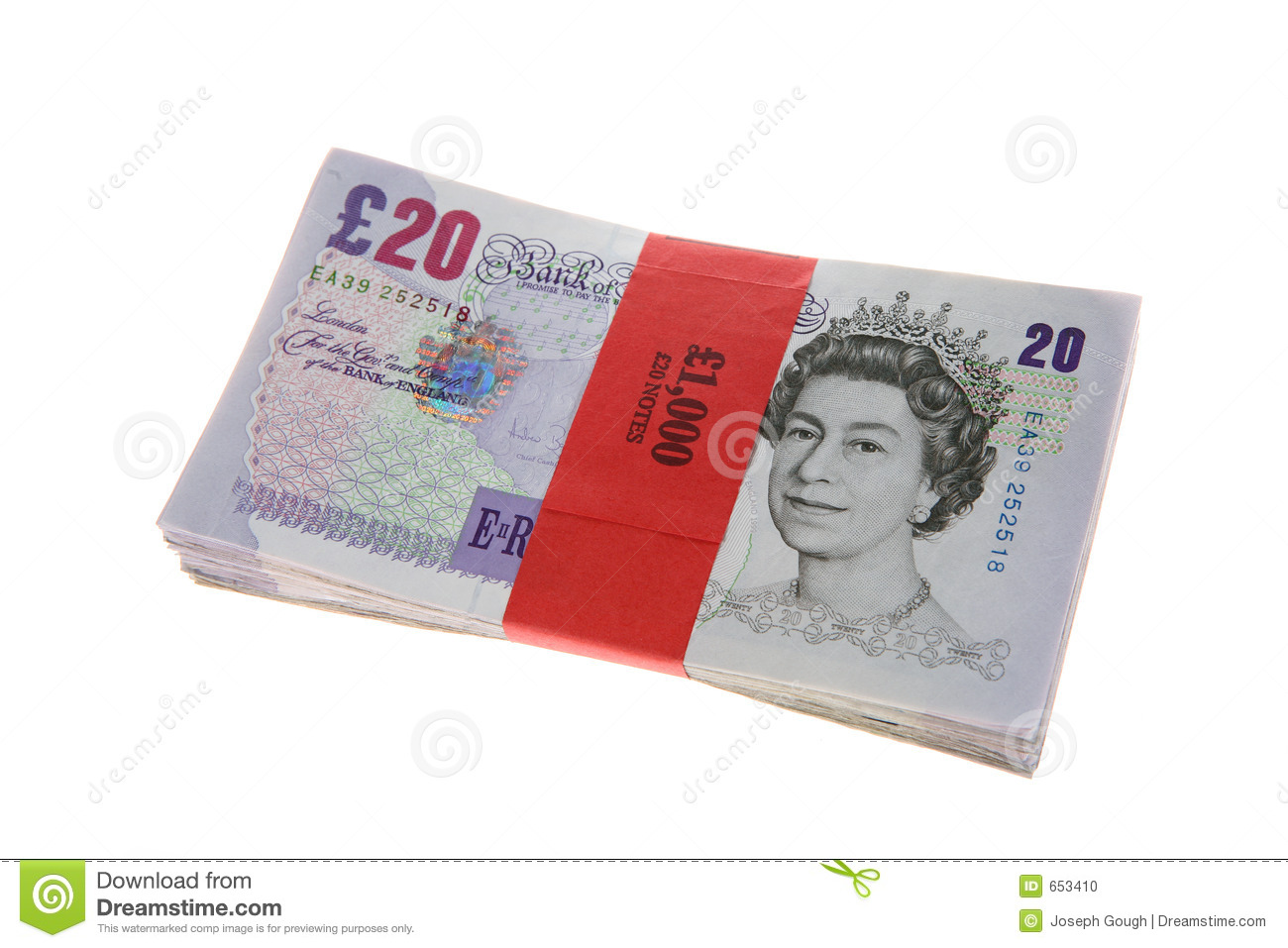 Pound Notes Stock Photos, Images, & Pictures.