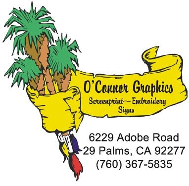 O'connor Graphics and Screen Printing.