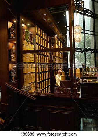 Stock Photo of TWG tea house 183683.