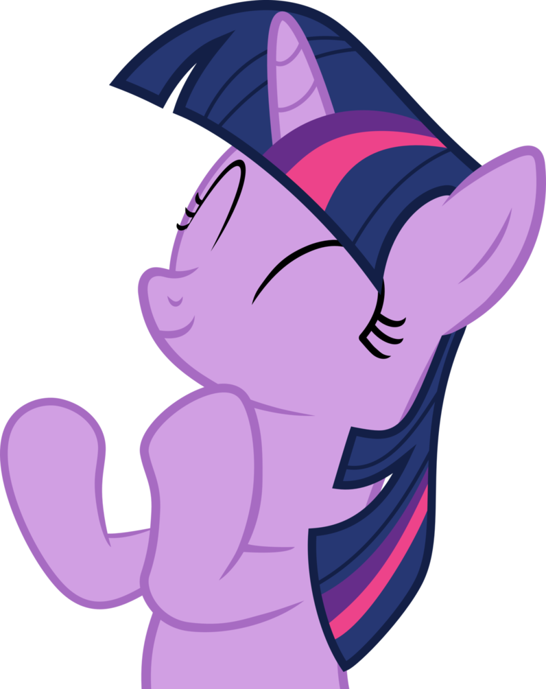 Twilight Sparkle Clapping (Vector) by Mio94 on DeviantArt.