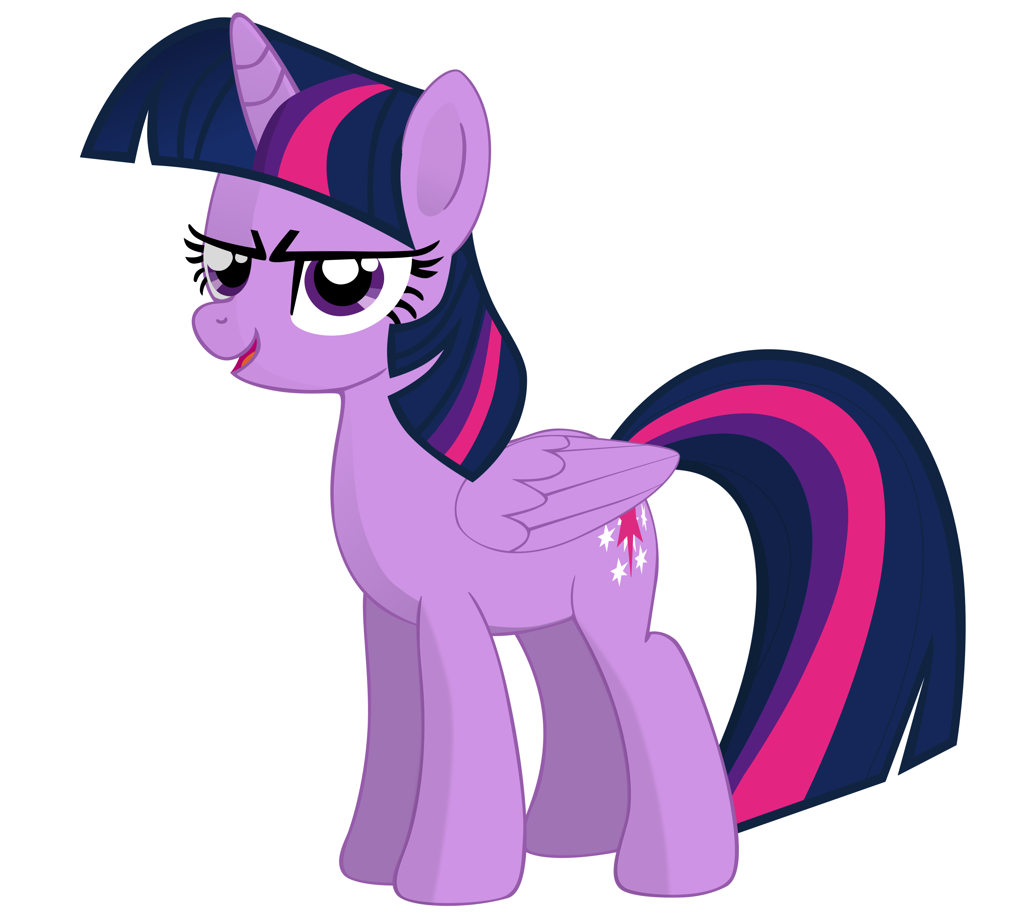 Twilight Sparkle Alicorn Clipart.