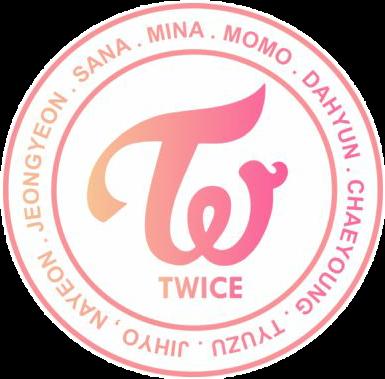 kpop twice logo kpoplogo twicelogo mina sana jeongyeon.