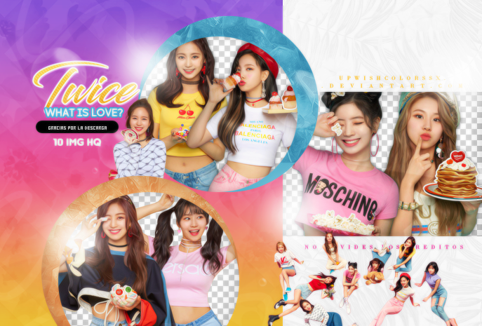 TWICE PNG PACK #9/WHAT IS LOVE? by Upwishcolorssx on DeviantArt.
