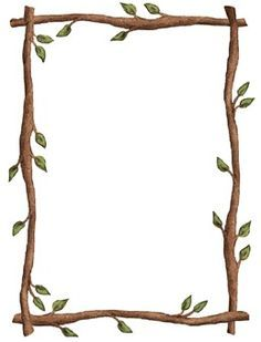 14 Awesome twig border clip art.