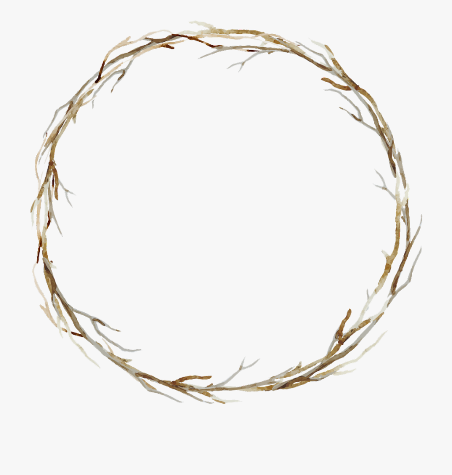 branches #twigs #sticks #frame #border #wreath #background.
