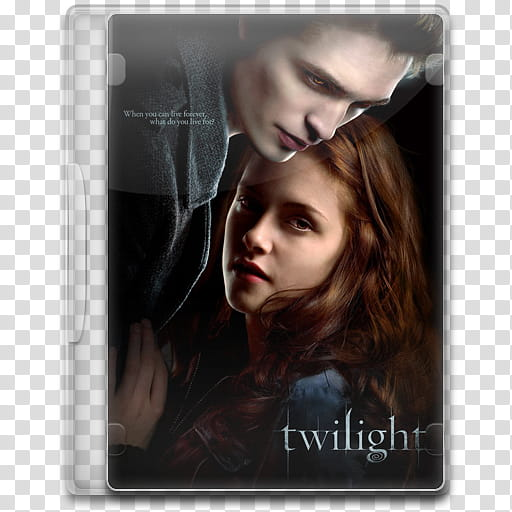 Movie Icon , Twilight, Twilight DVD case transparent.